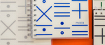 Mola - Math Notebook - Dot All by MOLA DESIGN CO., LTD.