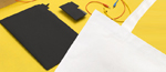 Mola - Math Tote Bag - Black Divide by MOLA DESIGN CO., LTD.
