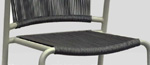 STRING DINING CHAIR by Attradha Co.,Ltd.